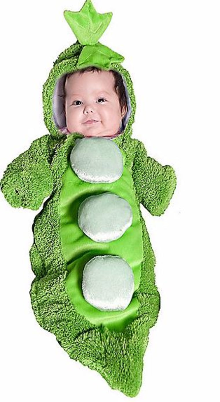 Pea in a pod costume