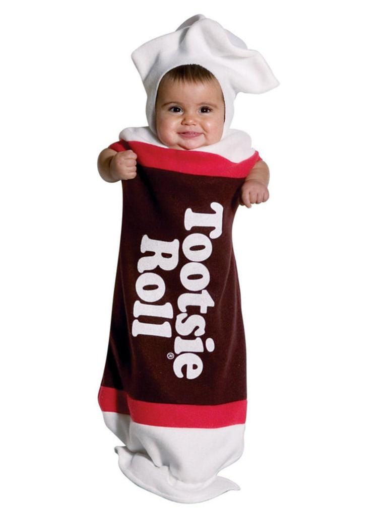 Tootsie roll costume