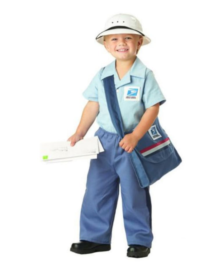 Postman costume