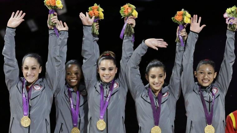 U.S. gymnasts
