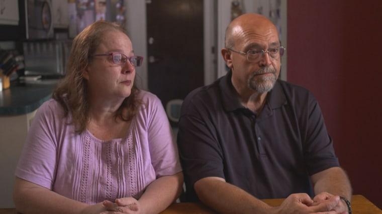SPRING HILL, FL: Pennie Krietemeier, 53 and Randy Krietemeier, 53, pictured at their home.