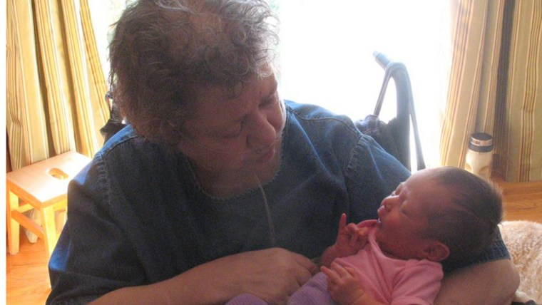 Gail Pine passed away when her granddaughter was 5 months old. Before dying, she asked her daughter Rebecca to promise to have her breast and ovaries removed to protect her from cancer.