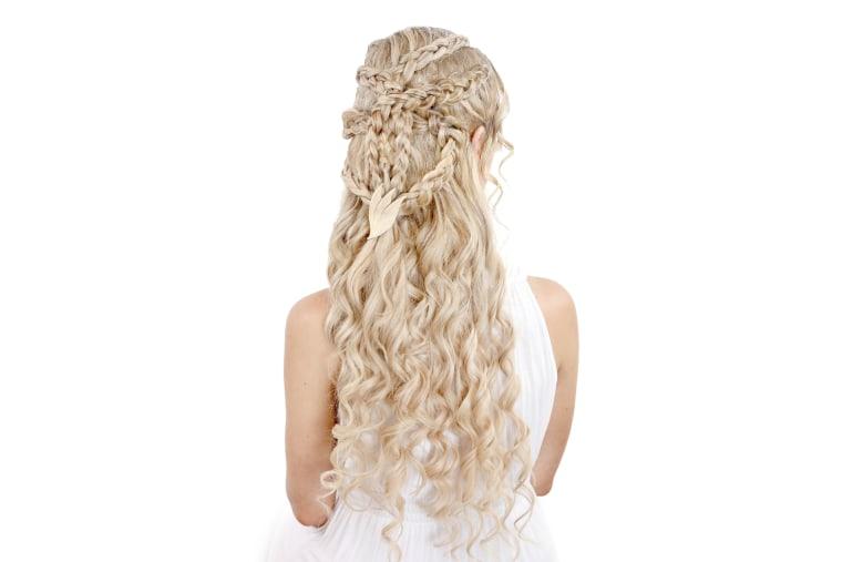 Dragon queen hair