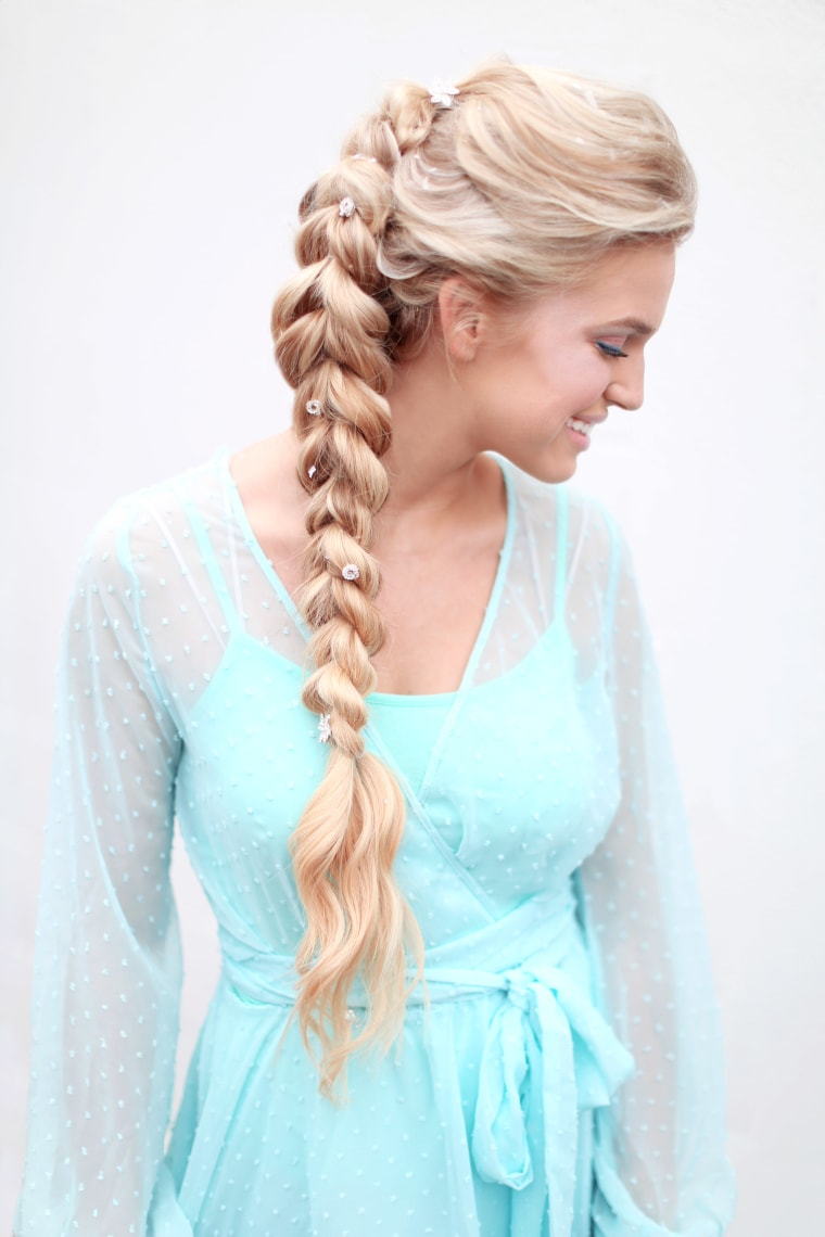 """Elsa from """"Frozen"""" hair"""