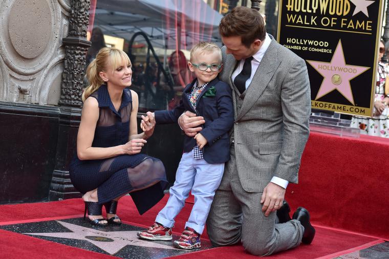 Chris Pratt, Anna Faris, Jack Pratt