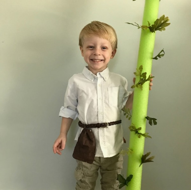 31 days of Halloween costumes: Jack and the Beanstalk