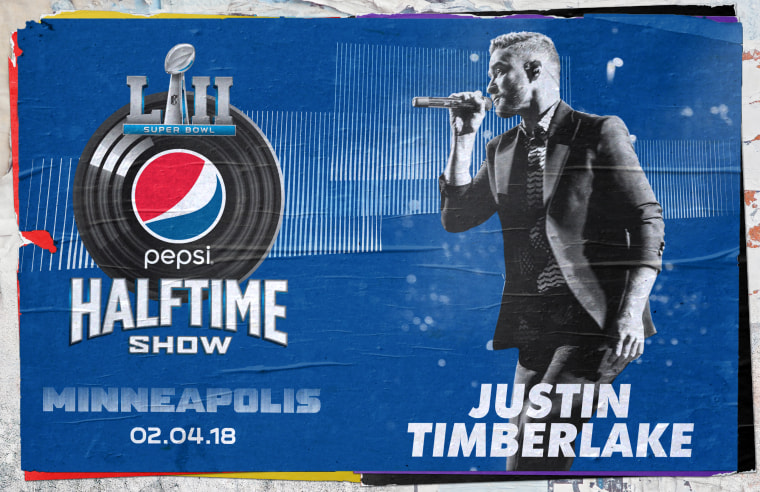 JT is coming back to the Super Bowl, so just dance, dance, dance ....