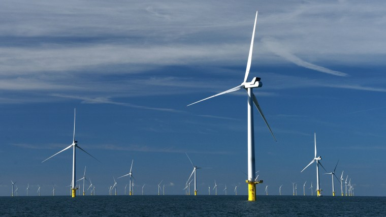 one giant wind farm could power the entire planet