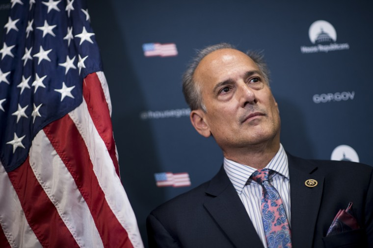 Rep. Tom Marino, R-Pa., appears at a Capitol Hill news conference Sept. 27, 2016.