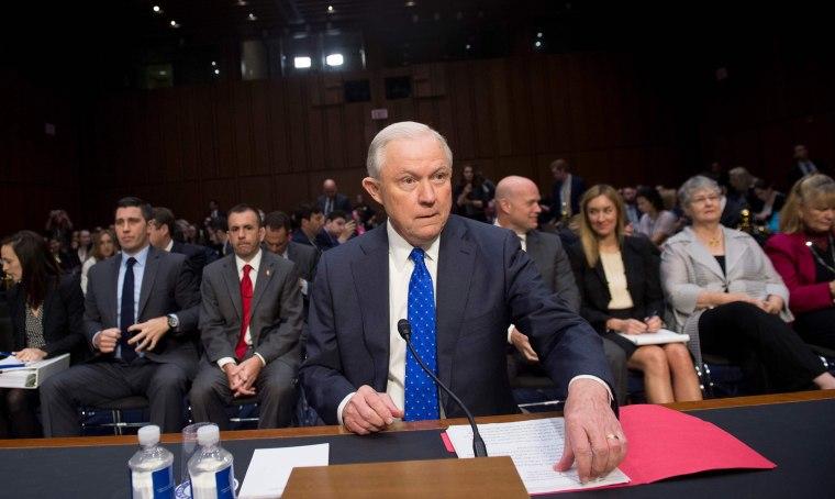 Image: US-POLITICS-SENATE-JUSTICE-SESSIONS