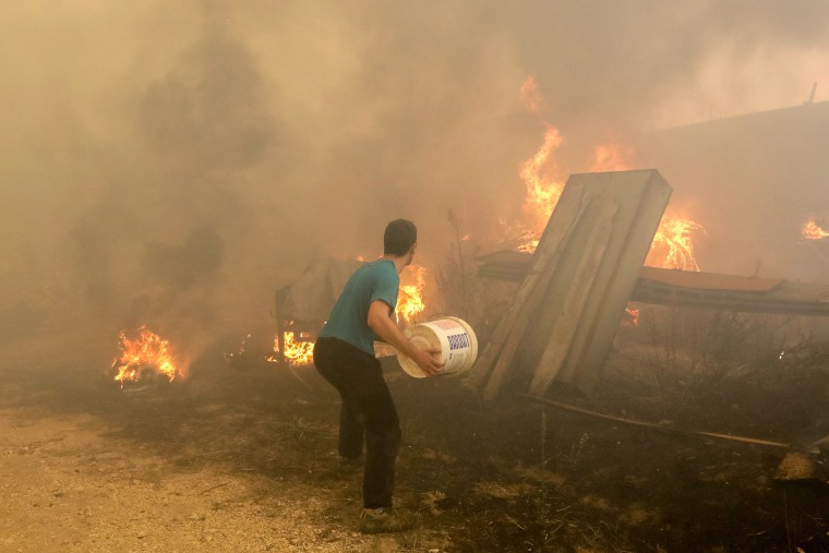 Image: Forest fire in Vila Nova de Poiares