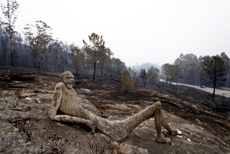 Image: Forest fires in Galicia