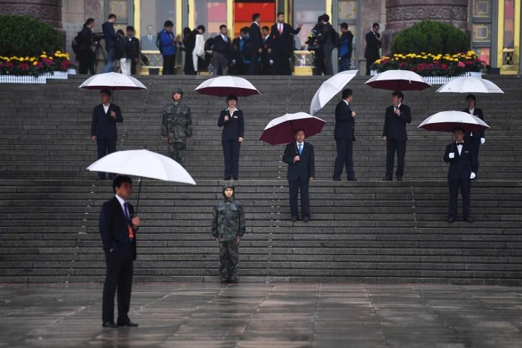 Image: TOPSHOT-CHINA-POLITICS-CONGRESS