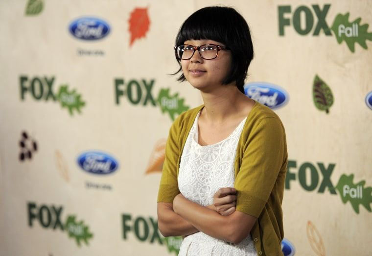 "Image: Charlyne Yi, a cast member in the television series ""House,"" arrives at the 7th Annual FOX Fall Eco-Casino Party in Culver City, California, Sept. 12, 2011."