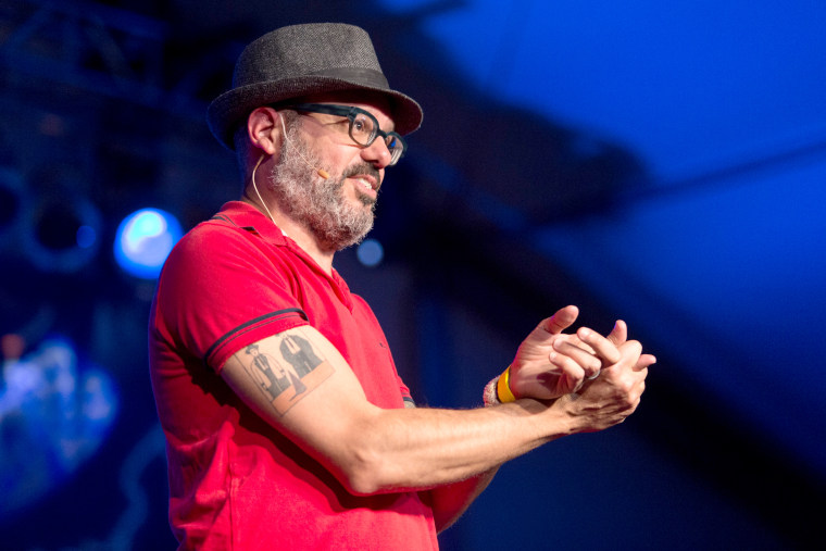 Image: David Cross performs on stage during Festival Supreme at the Santa Monica Pier, on Oct. 19, 2013 in Santa Monica, California.