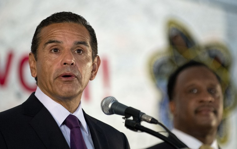 Image: Los Angeles Mayor Antonio Villaraigosa (