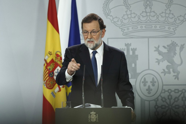 Image: Spanish Prime Minister Mariano Rajoy