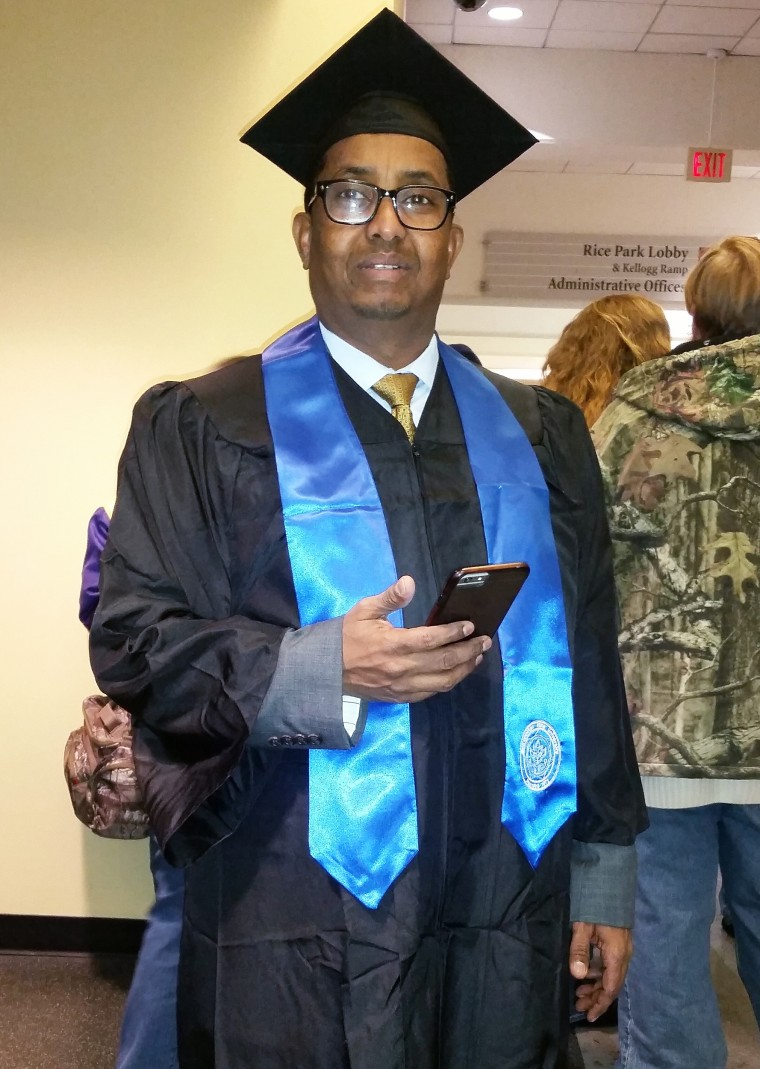 Image: Ahmed AbdiKarin Eyow, one of the Americans killed in the Somalia attack.