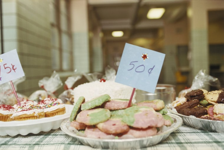 Image: Stall at a Bake Sale