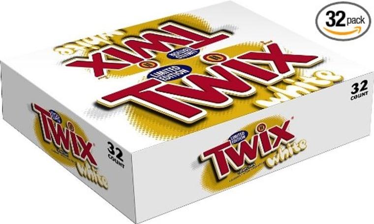 White Chocolate Twix