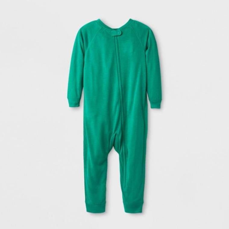 Adaptive pajamas in green