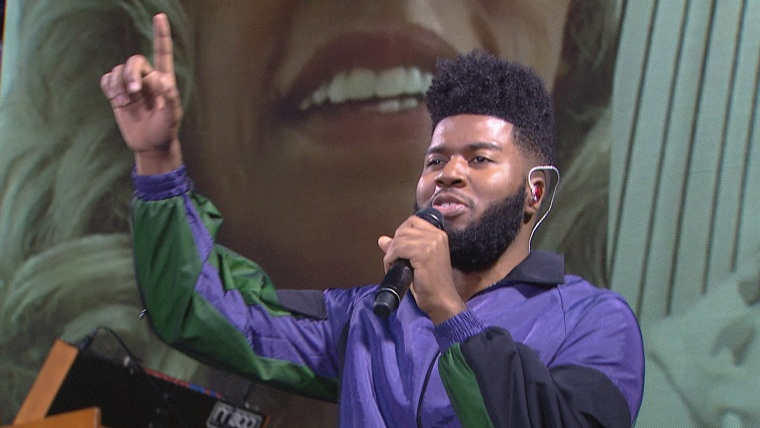 Khalid on TODAY, October 25th, 2017