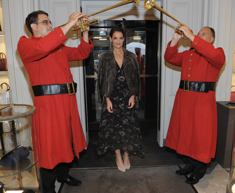 Katie Holmes Partners with FAO Schwarz to Unveil New Holiday Collection