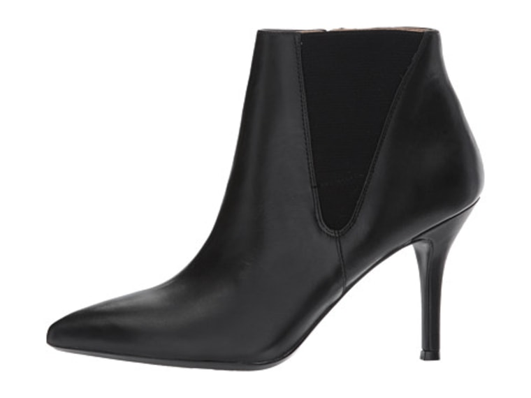 Pointy heeled boots