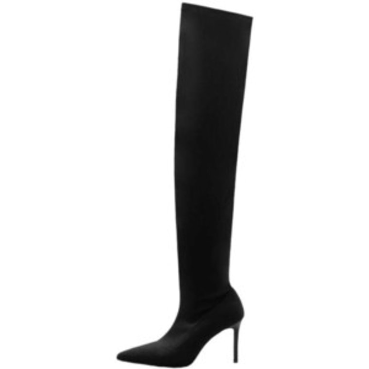 Over the knee boots Mango