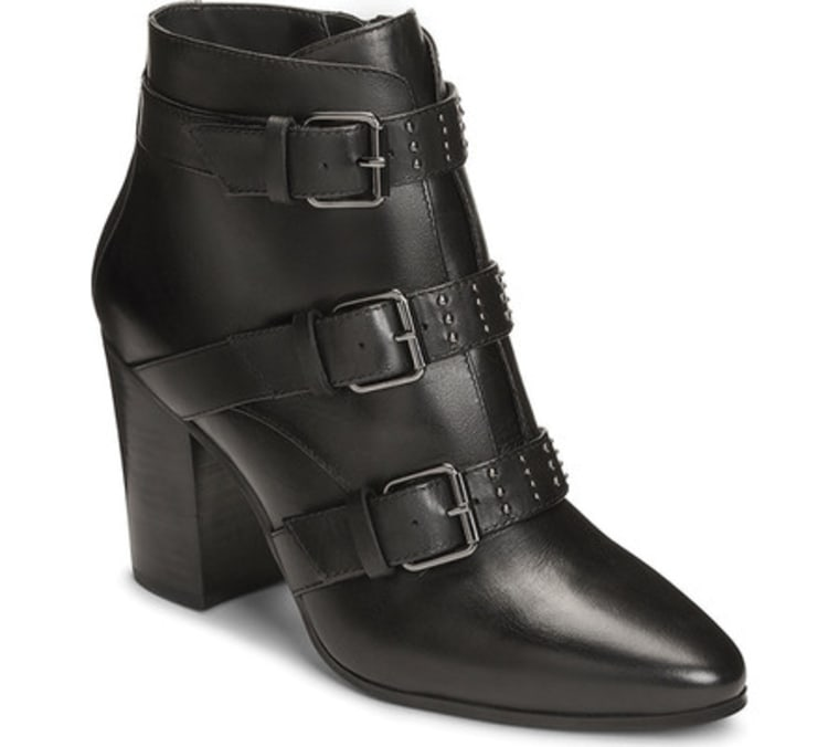 Aerosole black booties