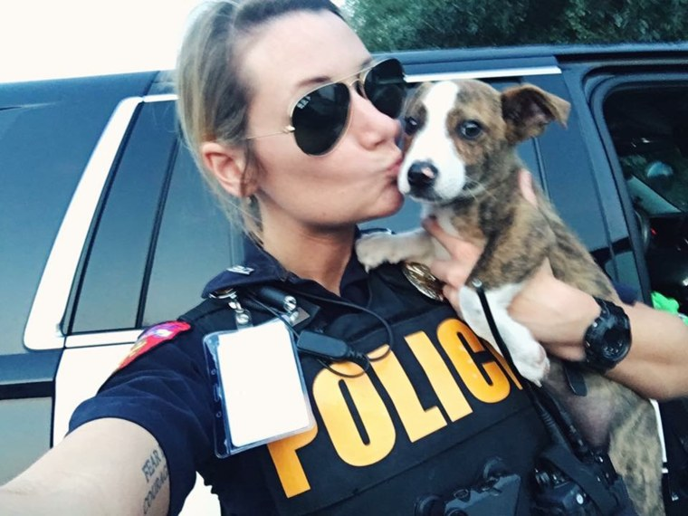 Leah Sipe is director of the The City of Waller Animal Shelter and Rescue on top of working as a police officer.
