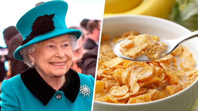 The Queen's breakfast