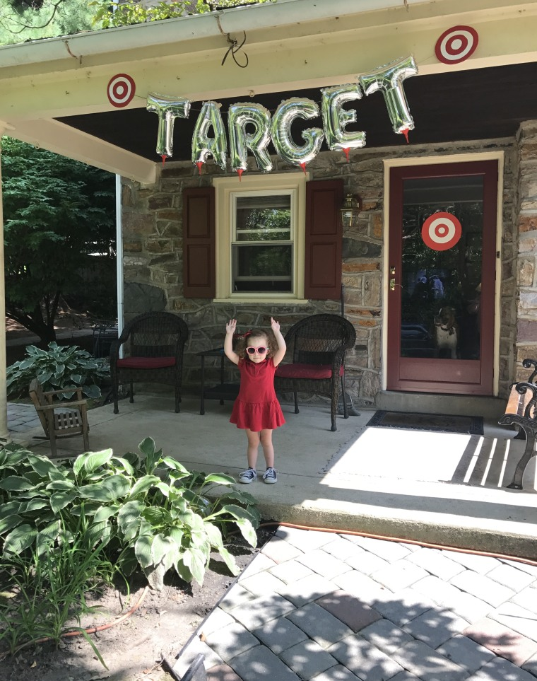 Charlie Kern Asked For A Target Themed Birthday Party And Her Mom Delivered