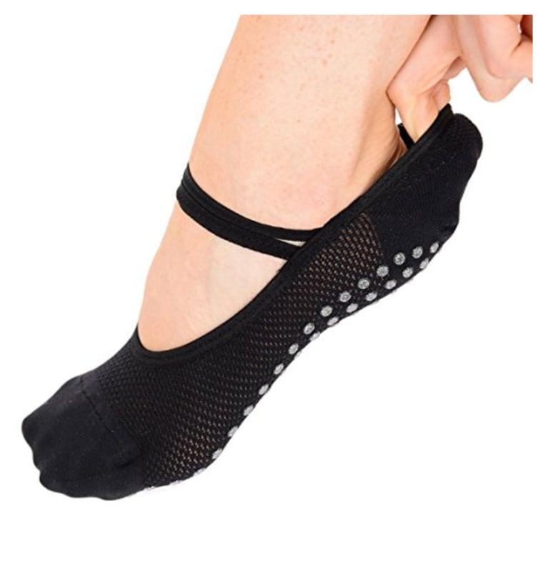Barre ballet socks