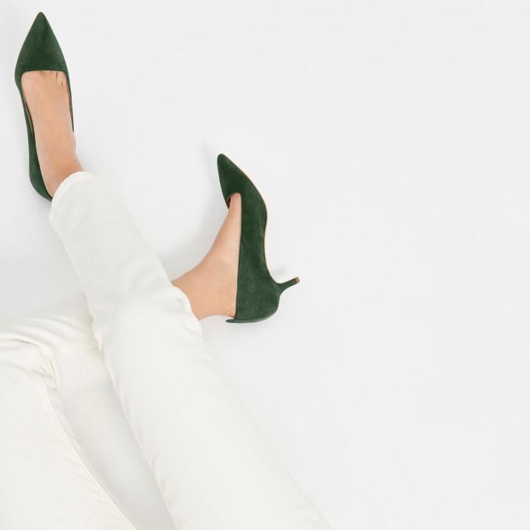 Everlane The Editor Heel kitten heels