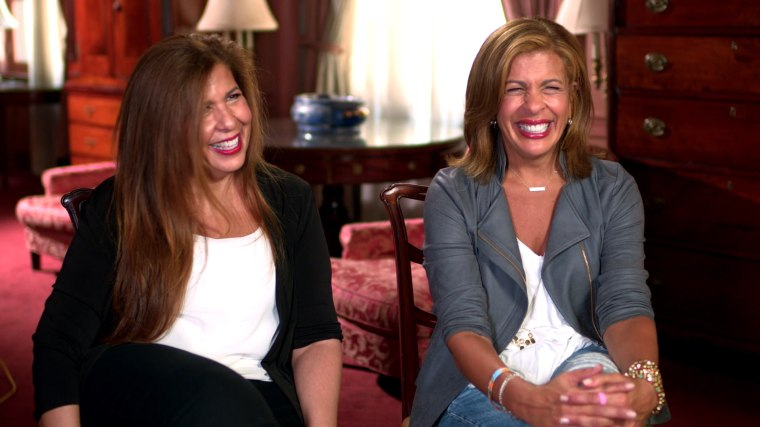 Savannah and Hoda reveal how their sisters helped them through difficult times