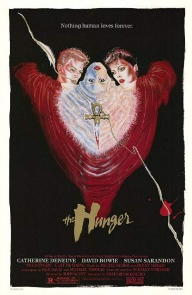 """""""The Hunger"""" poster."""