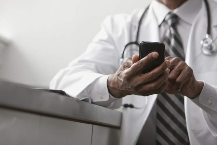 Image: Imagine a world where you could be scanned for illness each time you talked on your smartphone.