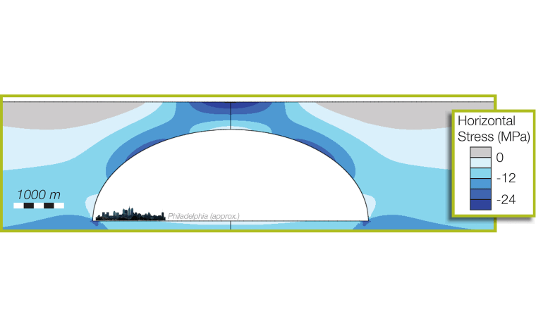 The city of Philadelphia could easily fit inside a theoretical lunar lava tube.