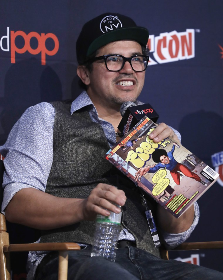 Image: John Leguizamo speaks onstage during the FREAK! The Comic Book! panel