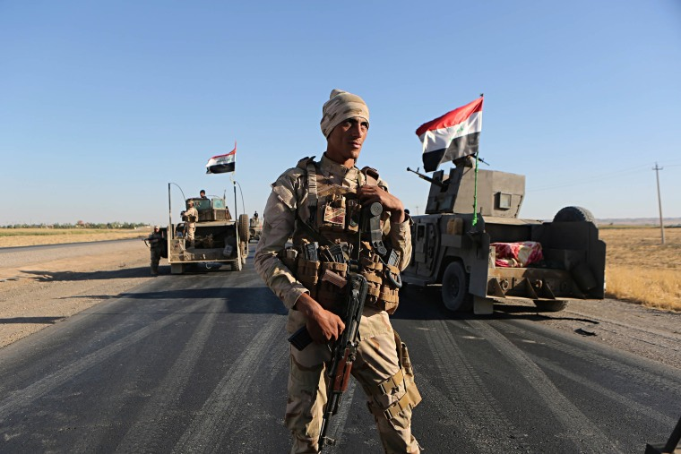Image: Fighting in Kirkuk