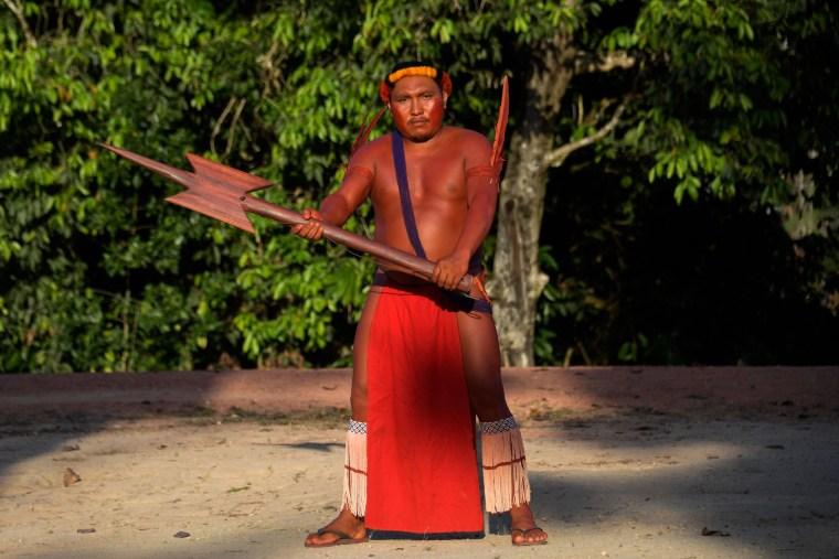 Image: Indigenous Waiapi Tribe