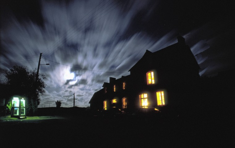 Image: Spooky house