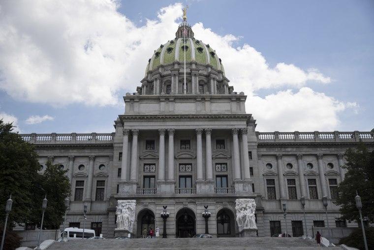 Image: Pennsylvania Capitol building in Harrisburg