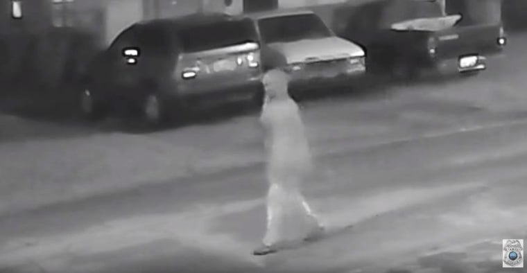 Tampa Police released additional footage of an individual who was seen walking on a street very close to the first homicide around the time that Benjamin Mitchell was shot on Oct. 9.