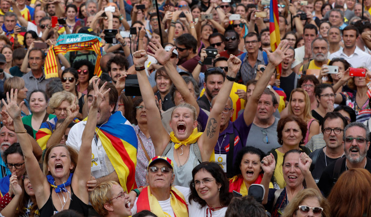 Image: Catalonia Declares Independence