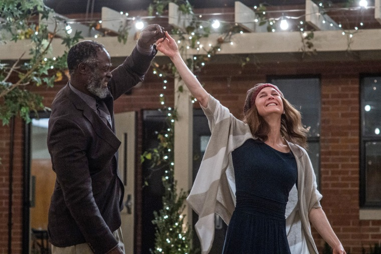 "Djimon Hounsou and Renee Zellwegger in ""Same Kind of Different as Me."""