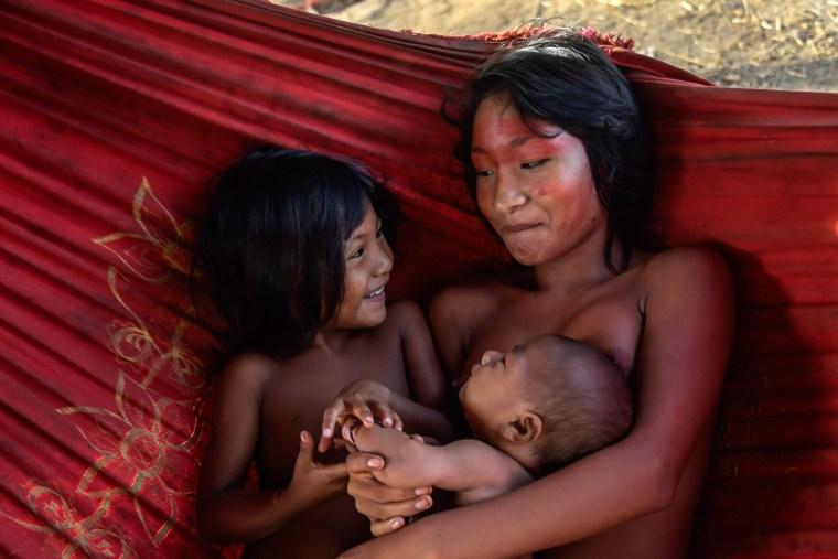 Image: BRAZIL-AMAZON-INDIGENOUS-WAIAPI