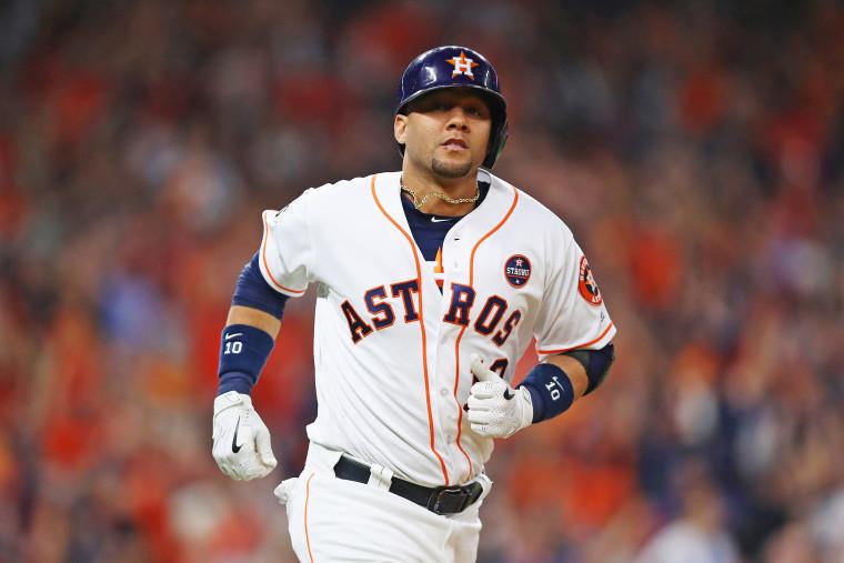 Image: World Series - Los Angeles Dodgers v Houston Astros - Game Three
