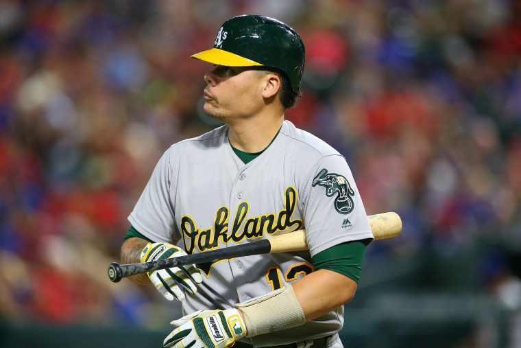 Image: Oakland Athletics v Texas Rangers